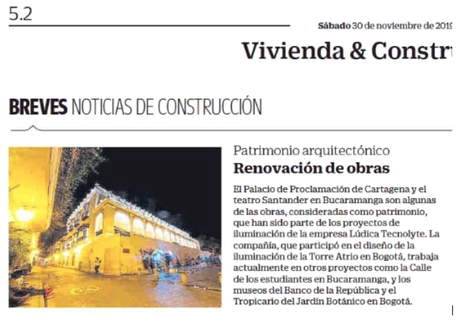 Noticias de Construcción: Renovación de Obras del Patrimonio Nacional
