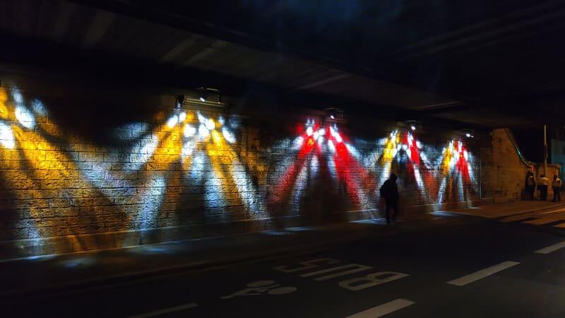 iluminacion exterior en lyon